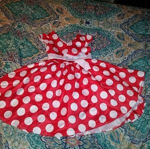 Other - Darling mini mouse dress girls 5 / 6